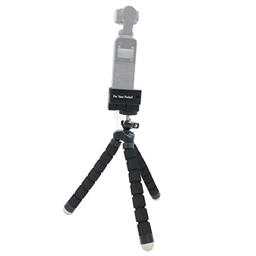 JPJ(TM) 1Pcs Hot Creative Flexible Holder Tripod 1/4 Screw Mount Bracket Gimbal Stand For DJI Osmo Pocket