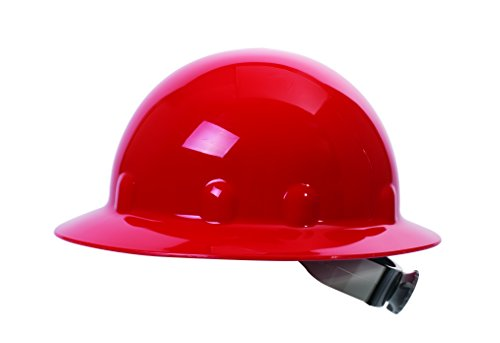 Fibre-Metal by Honeywell SuperEight Thermoplastic Full Brim Hard Hat with 8-Point Ratchet Suspension,