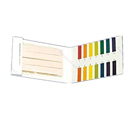 Techinal Litmus pH Test Strips, Universal Application Full pH 1-14 Test Indicator Paper,1Pack of 80 Strips 6 100% brand new and high quality. Size of One pH Test Strip: 59mm x 8mm (L x W) / 2.28 x 0.31-Inches PH 1-14 color chart in each pack.