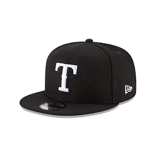 New Era Texas Rangers MLB Basic Snapback Black White 950 -