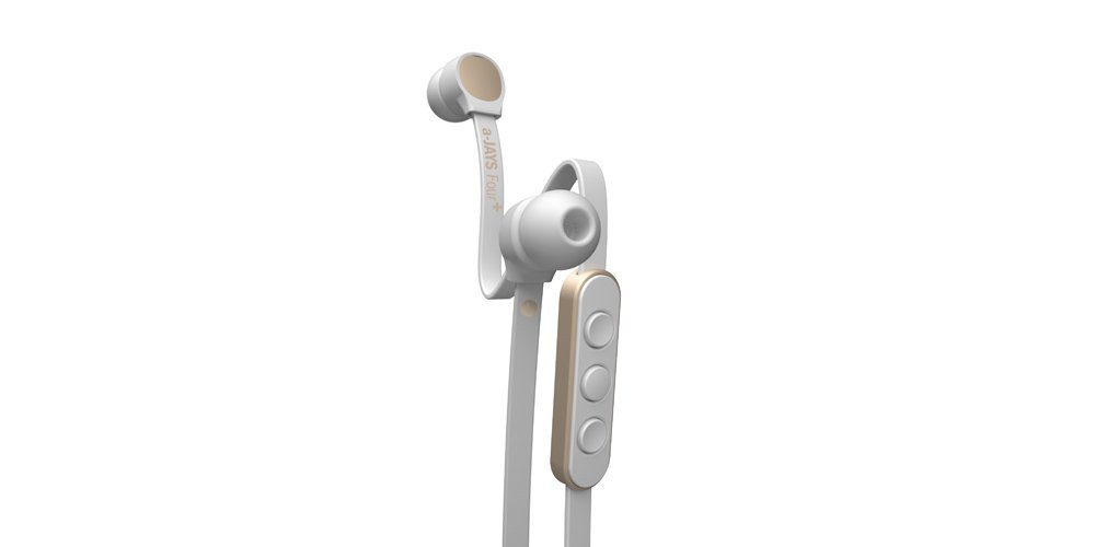 JAYS a-JAYS Four+ Android Headphones - White/Gold