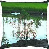Paddy fields scenery - Throw Pillow Cover Case (18