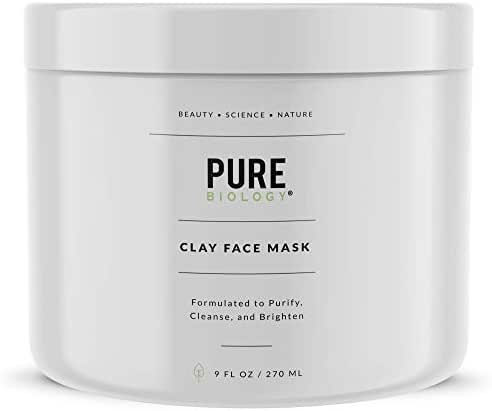 Premium Face Mask – Bentonite Clay, Retinol, Collagen Peptides, Kaolin, Vitamins B, C, E – Cleanse, Smooth & Minimize Deep Pores, Dark Spots, Blackheads & Acne Scars – Men & Women, All Skin Types