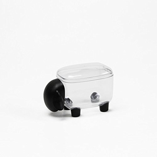 Sansukjai Clear-Black Sheep, Container, Container Storage, Container Plastic,Home Decor,Gift (Tables Sale Pool Tampa For)