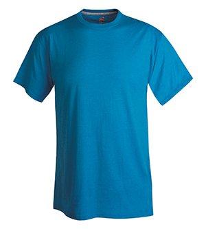 - Hanes Men's X-Temp Performance T-Shirt - Medium - Neon Blue Heather