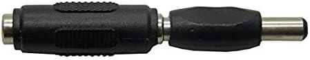 DC Power 5.5mm x 2.1mm Female to Female Coupler 2 Pairs Qaoquda 2.1mm X 5.5mm DC Power Adapter, Male to Male Coupler LED//CCTV Camera