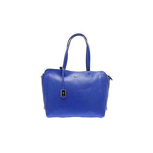 583e5fd903214 PIERO GUIDI Tasche Magic Circus Damen Leder Blau Royal 214811082P6 ...