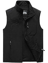 Men's Casual Outdoor Lightweight Quick Dry Travel Safari Fishing Vest