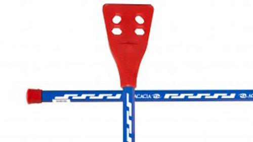 Acacia Pro-6000 Broomball Sticks, Royal/White/Red