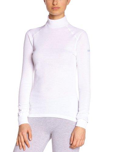 a Odlo Bianco maniche lunghe donna calda Shirt T Bianco per Xw8qpXr