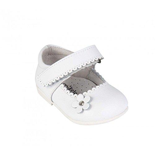 Babies en cuir - bébé fille - blanc