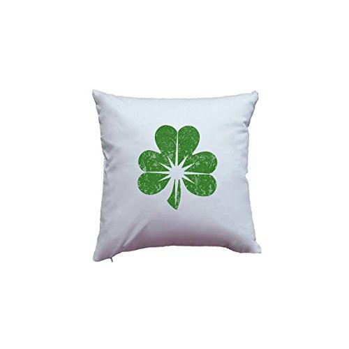 Cute Green Distressed Shamrock Pillowcase Saint Patrick's Day Print Irish St. Patricks Day March Home Decor Pillow Cover Quality Pillowcase - O Sunglasses Marines