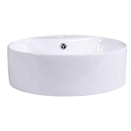 Contemporary Drop Leaf Leg (Contemporary Ceramic Bathroom Vessel Sink Drainage Rugged And Durable)