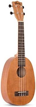 ウクレレ、ウクレレ初心者、ウクレレ小さなギターの学生が男性と女性のための23インチ、26インチマホガニー、パイナップル (Size : 26 inches)