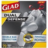 glad-33-gal-fits-outdoor-cans-forceflex-extra-strong-drawstring-trash-bags-70-ct-new