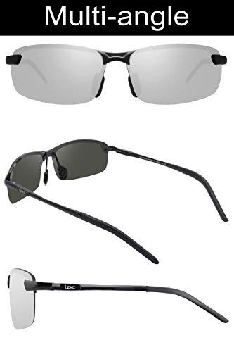 LZXC Charnière Sport Outdoor Soleil Conduite Printemps Argenté léger Eyewear De Lunettes De Ultra Polarisé Cadre Incassable De Homme rwqPR80Ar