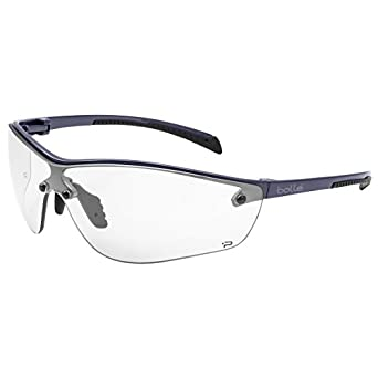014bb8d29eaf Bolle Clear Safety Glasses, Anti-Fog, Scratch-Resistant, Wraparound:  Amazon.com: Industrial & Scientific