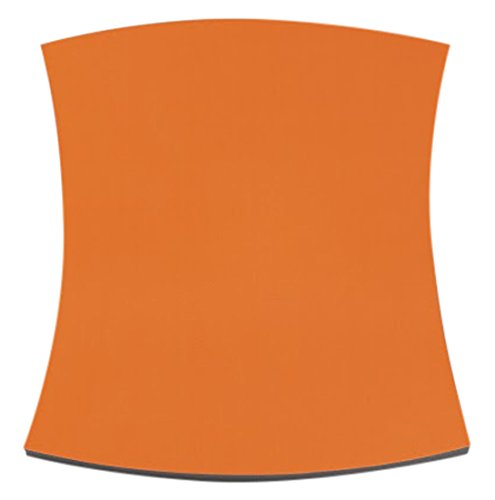 JOCAVI Acoustic Panels TWT057Orange Basmel Acoustic Foam Sound Absorbing Panel with Orange Fabric, 8 Pack (Panels Acoustic Fabric)