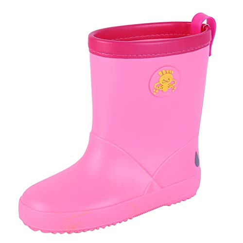 Print Wellies - Tantisy ♣↭♣ Baby Shoes Summer Children Girls Boys Cartoon Print Waterproof Rain Boots Shoes Beach Wading Shoes Pink