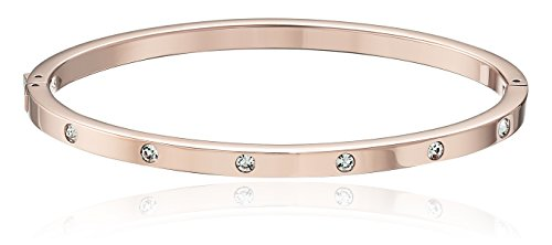 Fossil Dainty Dot Rose Gold Bangle ()