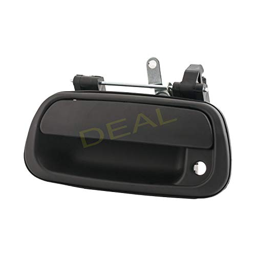 Black Rear Truck Bed Tailgate Handle With Key Hole Replacement Kit Fit 00-06 Toyota Tundra ()