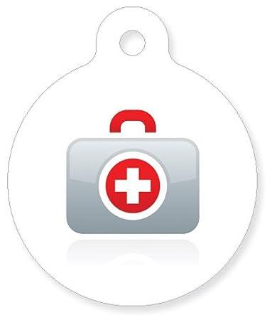 Amazon Medical Id Epilepsy Seizure Risk White Cross Symbol