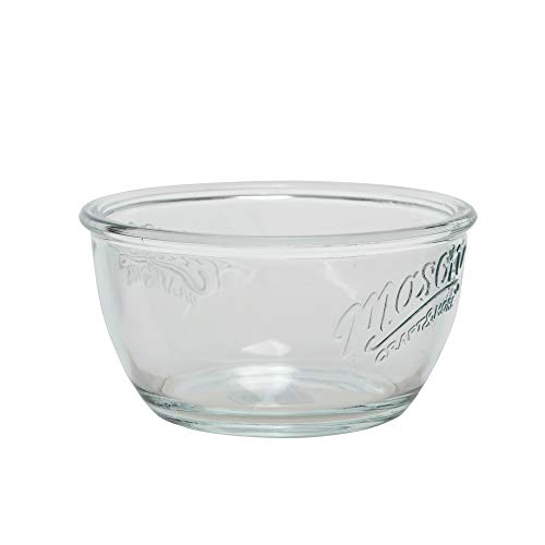 (Mason Craft and More 6 Inch Round Glass Cereal Bowl, Set of 6)