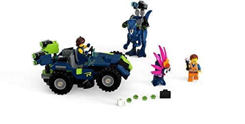 31Tnn P390L - LEGO THE LEGO MOVIE 2 Rex's Rex-treme Offroader! 70826 Dinosaur Car Toy Set For Boys and Girls, Action Building Kit (230 Pieces)