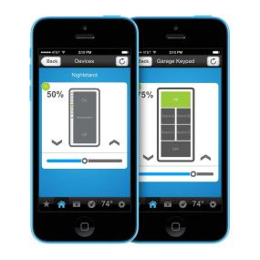 Control INSTEON devices from your smartphone or tablet