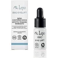 Lepo Ecobio Eyelift - Siero Contorno Occhi Effetto Tensore Immediato - Trattamento 7 Giorni - 5 Ml
