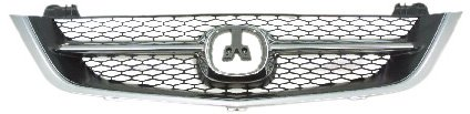 OE Replacement Acura TL Grille Assembly (Partslink Number AC1200107)