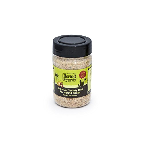 t - Food for Hermit Crabs, 4-Ounce (Diet Hermit Crab Food)