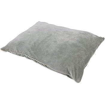 Whisker Doodle Velvet Dog Pillow Bed Lounger-27
