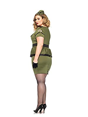 Leg Avenue Women's Plus-Size Commander Cutie