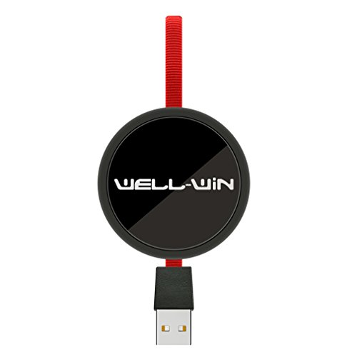 Well-Win Retractable USB Cable, 3 in 1 Multiple Charging Cable USB Type C 0.8M Retractable Quick Charging Data High Speed Adapter Cable for iPhone 5s 6 6s Plus,iPad,iPod,Android Phones by Well-Win