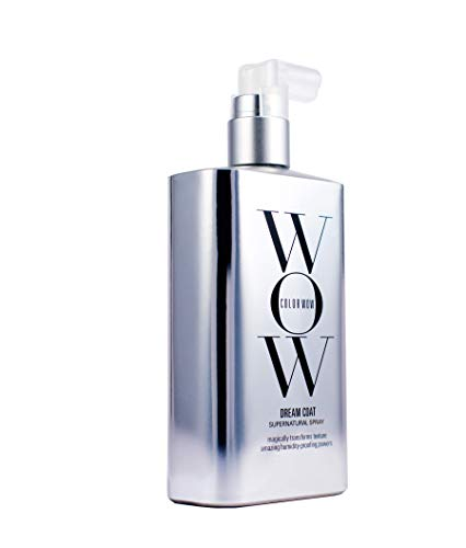 COLOR WOW Dream Coat Supernatural Spray Slays Humidity and Prevents Frizz, 6.7 Fl Oz (Best Way To Straighten Hair Without Flat Iron)