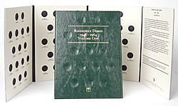Littleton Roosevelt Dimes 1946-1964 Coin Folder LCF21 by Littleton