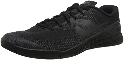 Nike AH7453-001: Men's Metcon 4 Black/Hyper Crimson Cross Training Shoes (13 D(M) US Men)