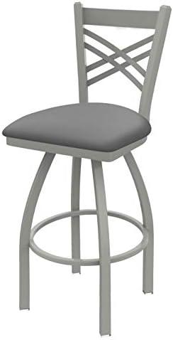 Holland Bar Stool Co. 82030AN007 820 Catalina Bar Stool, 30 Seat Height, Canter Folkstone Grey