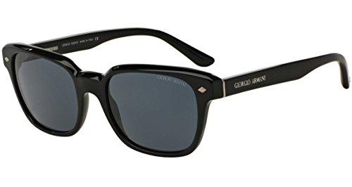 Giorgio Armani AR8067F - 5017R5 Sunglasses Black w/Grey Lens 53mm