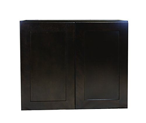 Design House 562348 Brookings 33-Inch Wall Cabinet, Espresso -