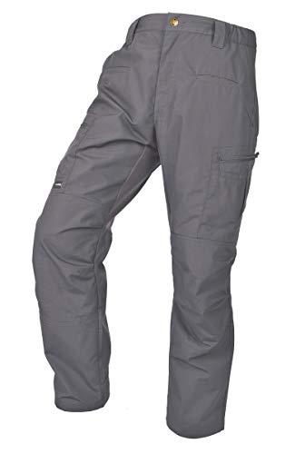 (LA Police Gear Men's Teflon Coated Water Resistant STS Atlas Tactical Cargo Pant Grey-38 X 32)