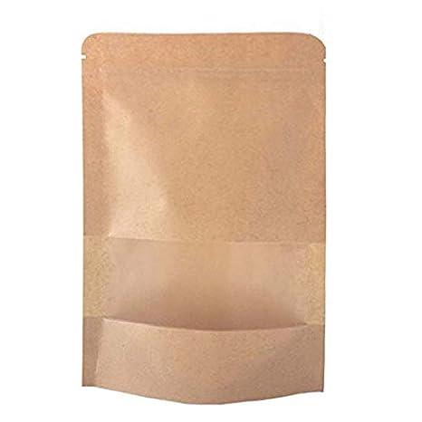 ctkcom 50 pcs bolsa de papel Kraft bolsa de papel, Kraft ...
