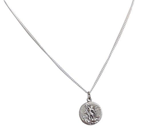 Igj-Medalla-de-San-Miguel-Arcangel-con-Cadena-Las-medallas-de-Los-Patronos