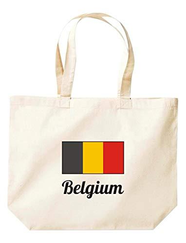 belgium Shirtinstyle Grande Bolsa países Compras De Natural bélgica Land w6UYzqw