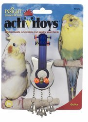 JW Pet Company Activitoys Guitar Bird Toy