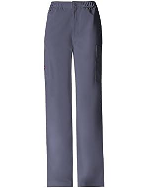 Men's Elastic Waist Zip Fly Pull-On Pant,81210