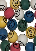 【返品交換不可】 Colored Pongサイズ Bingo Bingo BallsプラスチックPing B00KZ1WKUC Pongサイズ B00KZ1WKUC, 御菓子司 桝金:5ff794cc --- vietnox.com