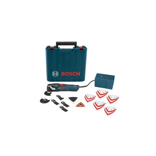 Bosch MX30EKRT 3.0 Amp Multi-X Oscillating Tool with 33 Accessories (Certified Refurbished) by Bosch