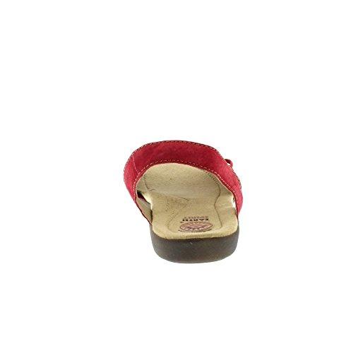 Esprit De La Terre Longue Plage - Rouge (cuir) Sandales Femmes